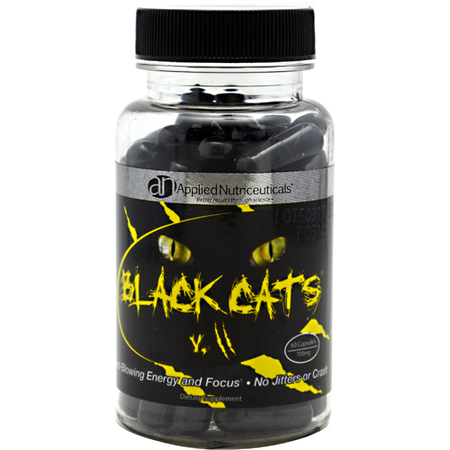 Applied Nutriceuticals Black Cats V.2 Energy ... - YouTube